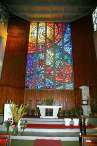 Gartenstadtkirche Glasfenster