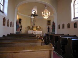 Kapelle Raschala innen