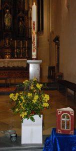 Osterkerze 2020 - Pfarrkirche Hollabrunn